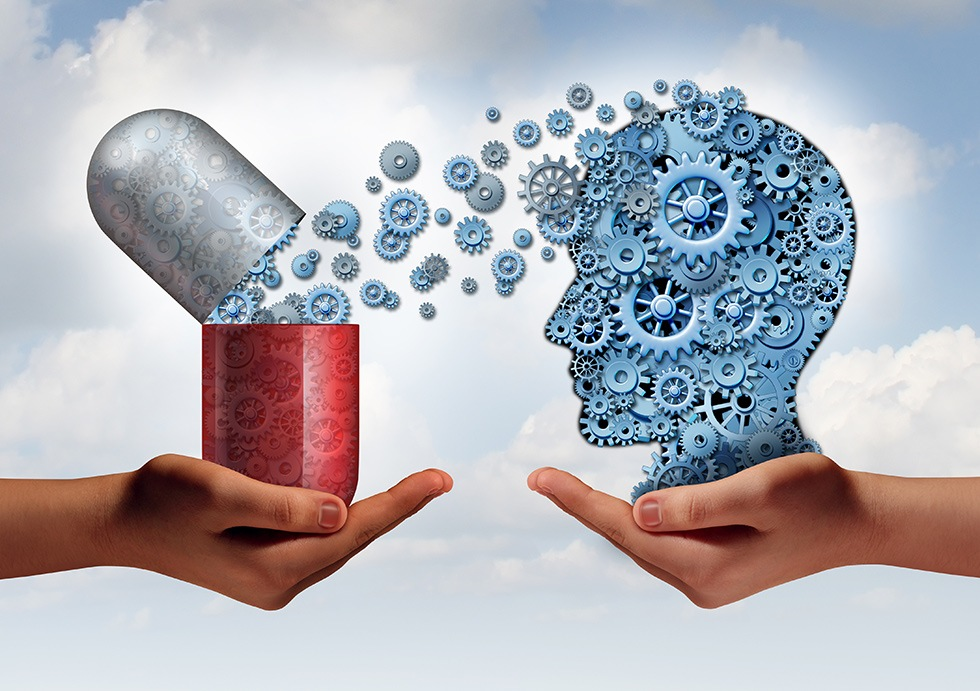 the connection between addicted brain and chemical substances in pills is the key to understanding addiction