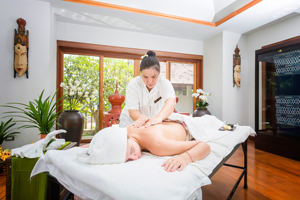 Spa and massage therapy at The Dawn Drug Rehab in Thailand