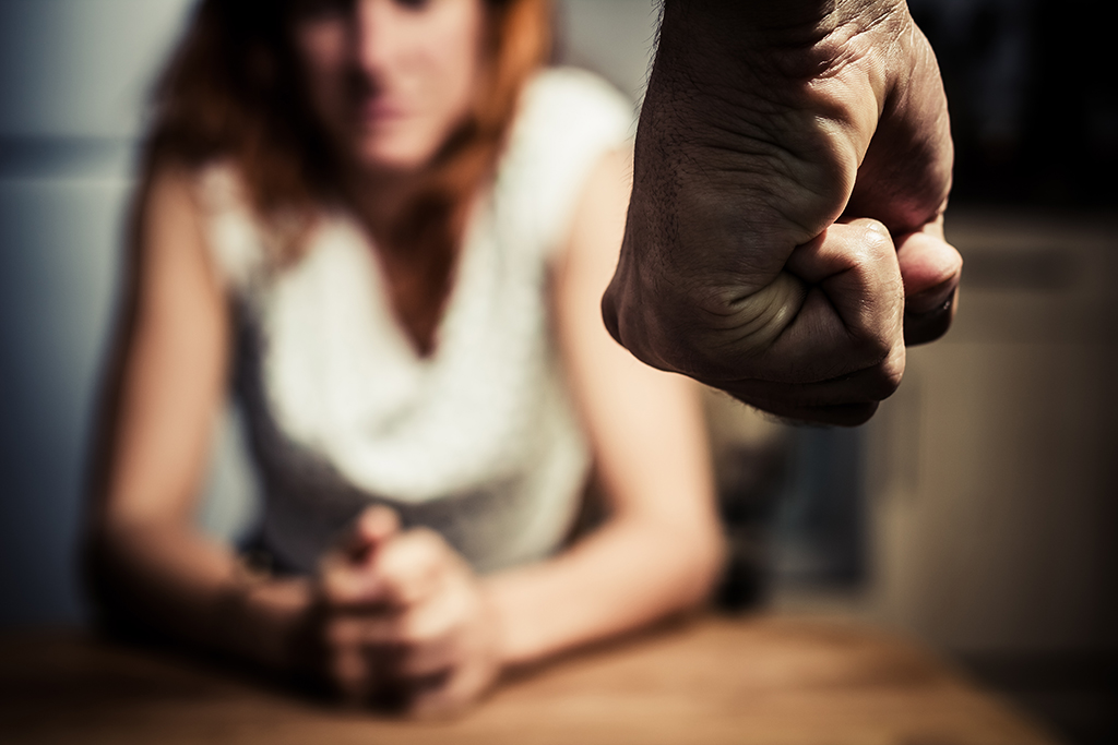 People who experience domestic violence can have trauma and PTSD