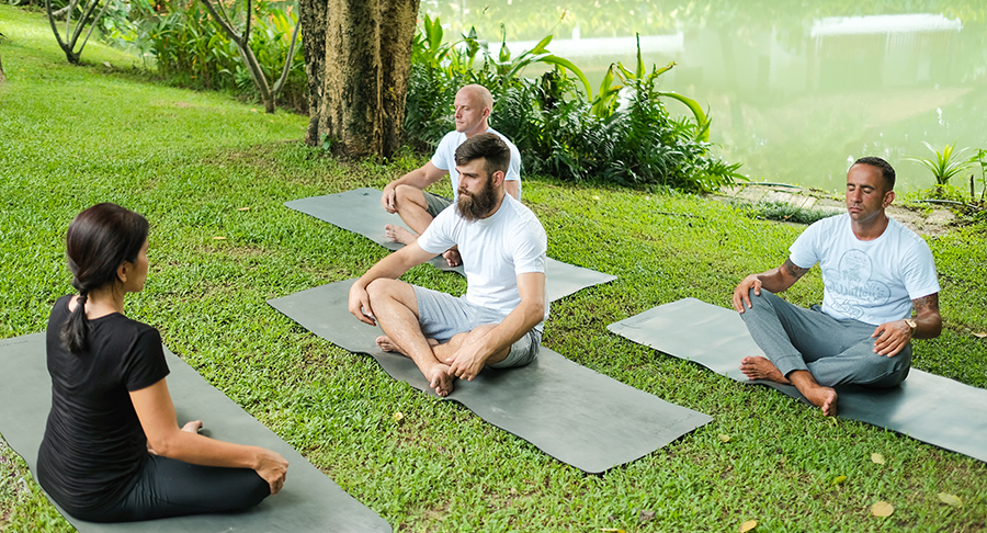 mindfulness meditation programme at The Dawn Alcohol and Drug Rehab Centre in Thailand