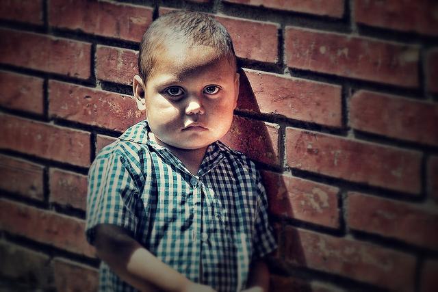 Childhood trauma can make a child feel sad and isolated
