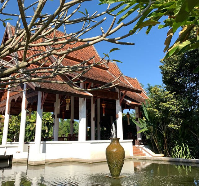 Lanna-Style Facility of The Dawn Anxiety Retreat in Chiang Mai, Thailand