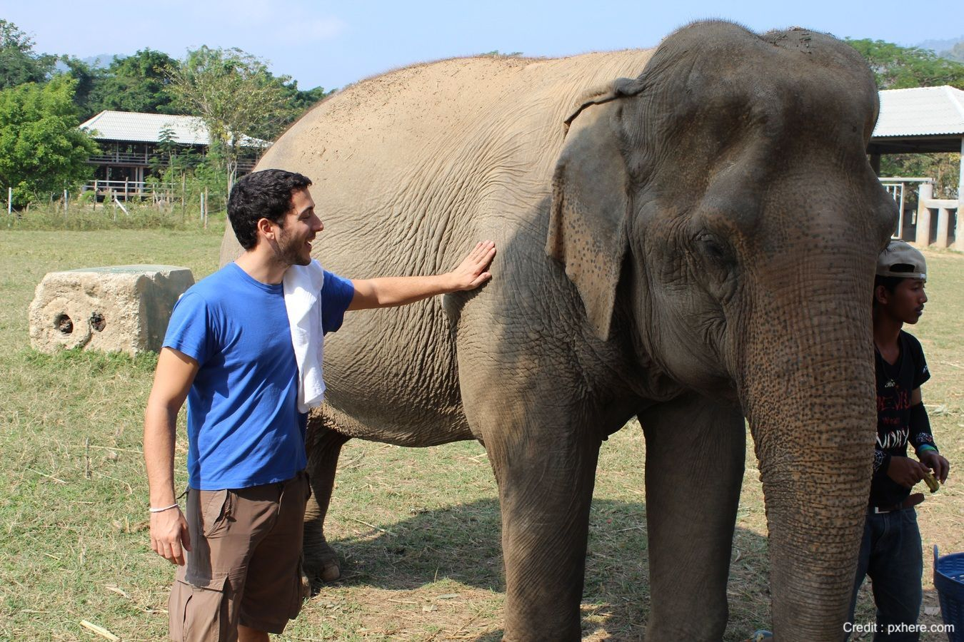 Inpatient treatment at The Dawn Rehab Thailand includes an excursion to an elephant jungle sanctuary