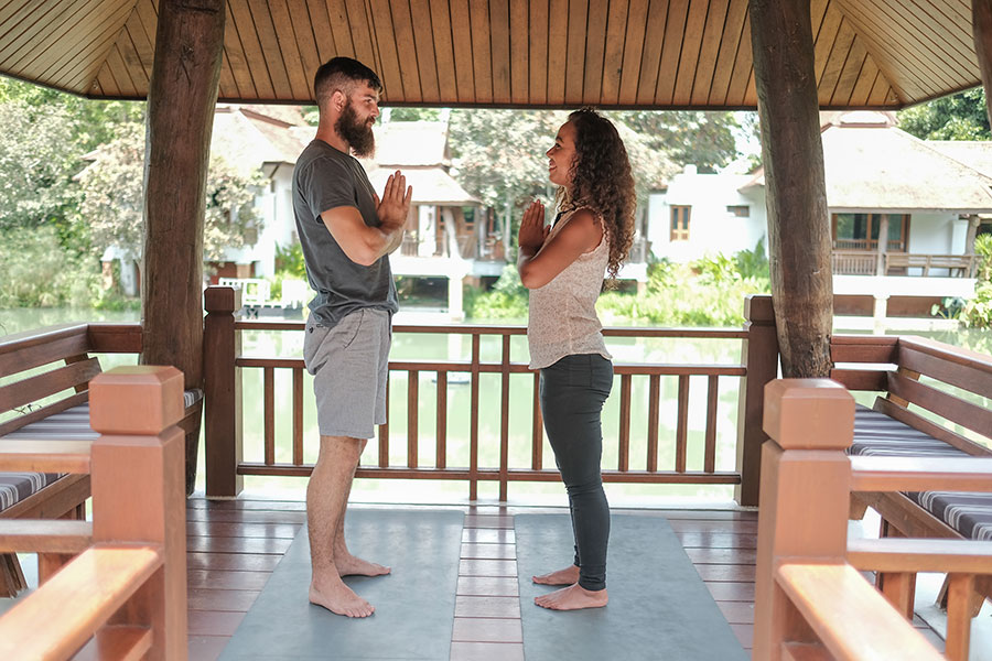 TRE Yoga at The Dawn Trauma & PTSD Retreat Thailand
