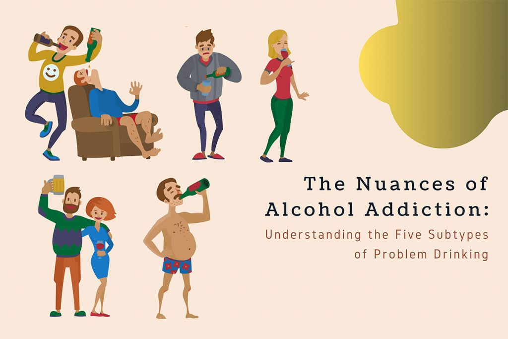 Here's what you should learn about the five subtypes of problem drinking.