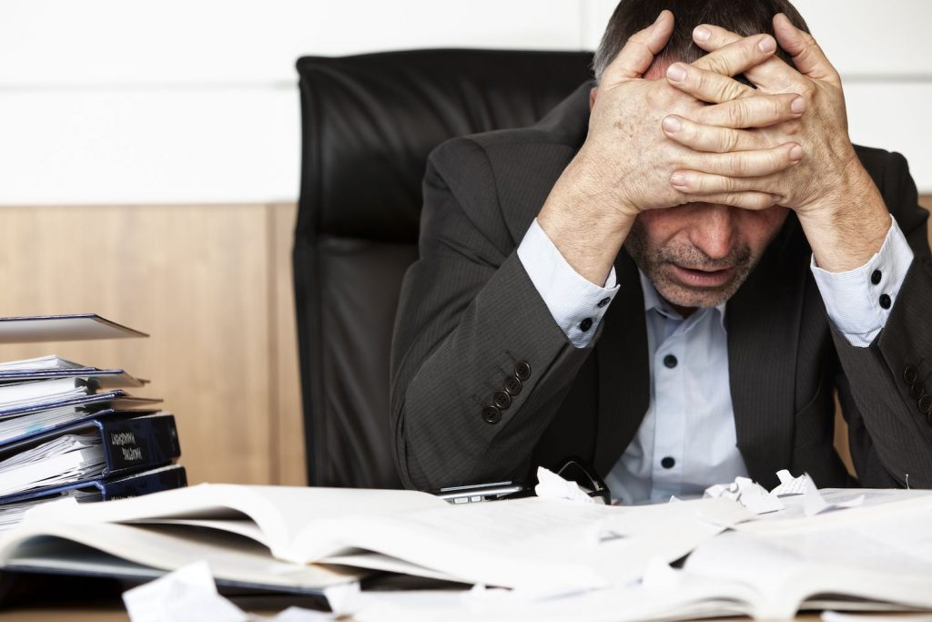 Work obligations can cause a buildup of stress, leading to burnout if left untreated.