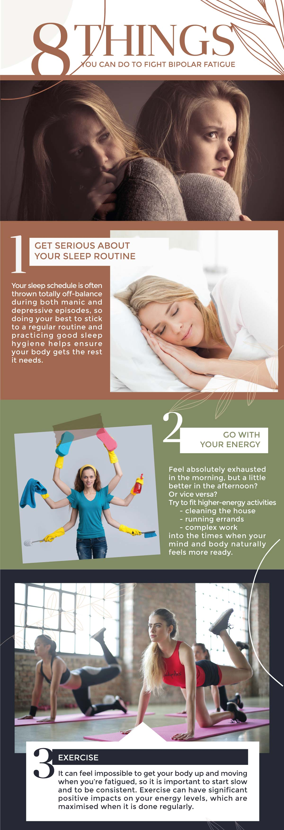 8 Things You Can Do to Fight Bipolar Fatigue-info-1